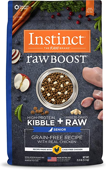 Top 10 Instinct Dog Food Senior