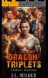 Dragon Triplets (Triplet Harems Book 1)