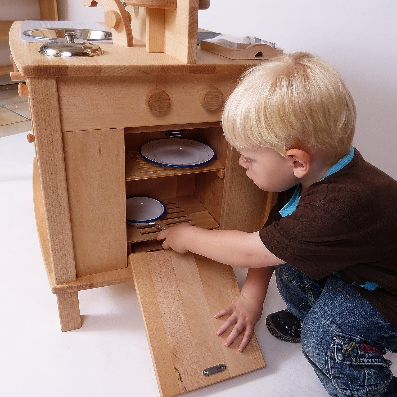 """Kinderküche / holzkinderküche """"cinderella"""" 2050 von holzspielzeug ..."""