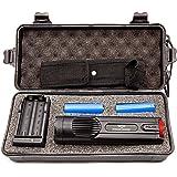 Avenger Defense Ultra-Powerful Series Rechargeable Stun Gun – 1.9uC Charge Portable Stun Gun – Ultimate Self Defense…