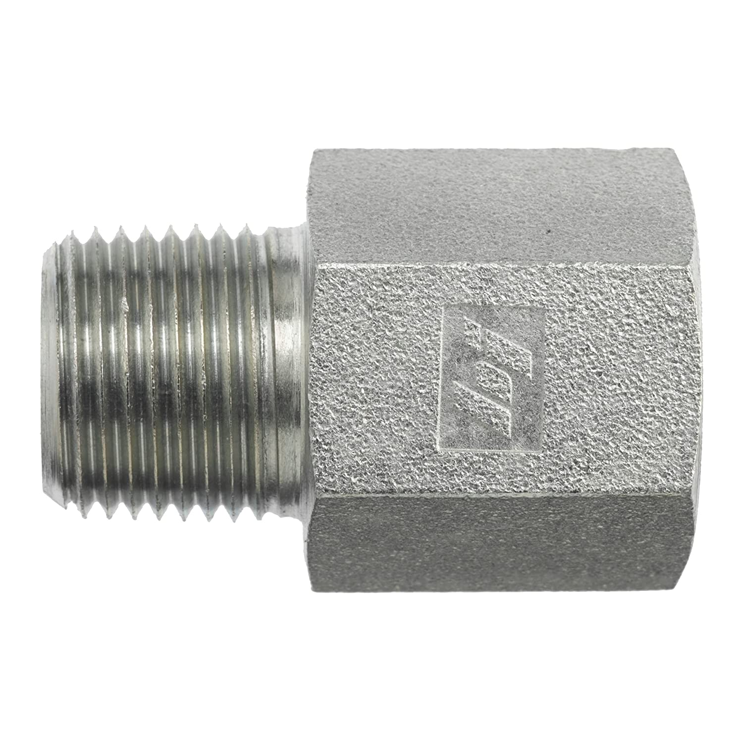 Brennan Industries 5405-20-32 Steel Straight Expander Fitting 1-1//4-11-1//2 NPTF x 2-11-1//2 NPTF Thread 1-1//4-11-1//2 NPTF x 2-11-1//2 NPTF Thread Inc.