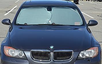 Amazon Com Econour Car Windshield Sun Shade Blocks Uv Rays Sun