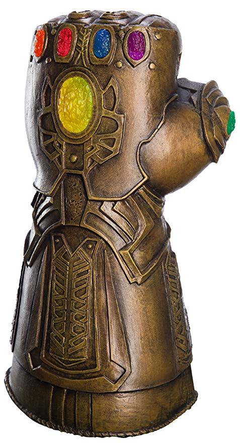 583ca0c4d Amazon.com: Rubie's Marvel Avengers: Infinity War Deluxe Adult Gauntlet:  Toys & Games