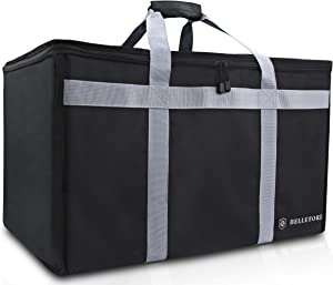 BELLEFORD Insulated Food Delivery Bag XXL - 23x14x15