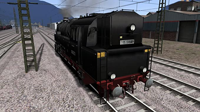 Romantic Railroads - The German BR95 Class Locomotive [PC
