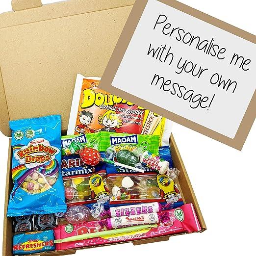 Eventabox - Caja de dulces (tamaño A5, con etiqueta personalizada ...