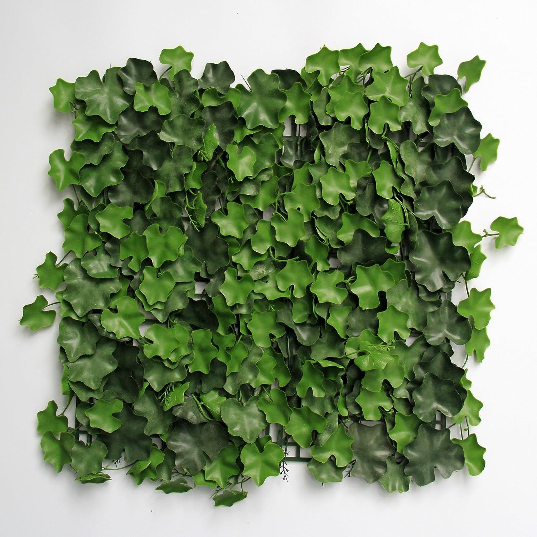 Uland 6 50 x 50 cm Künstliche Buchsbaum Hecken Platten UV