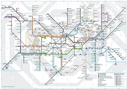 3 x official london underground tube train pocket map by tfl london subway metro pocket