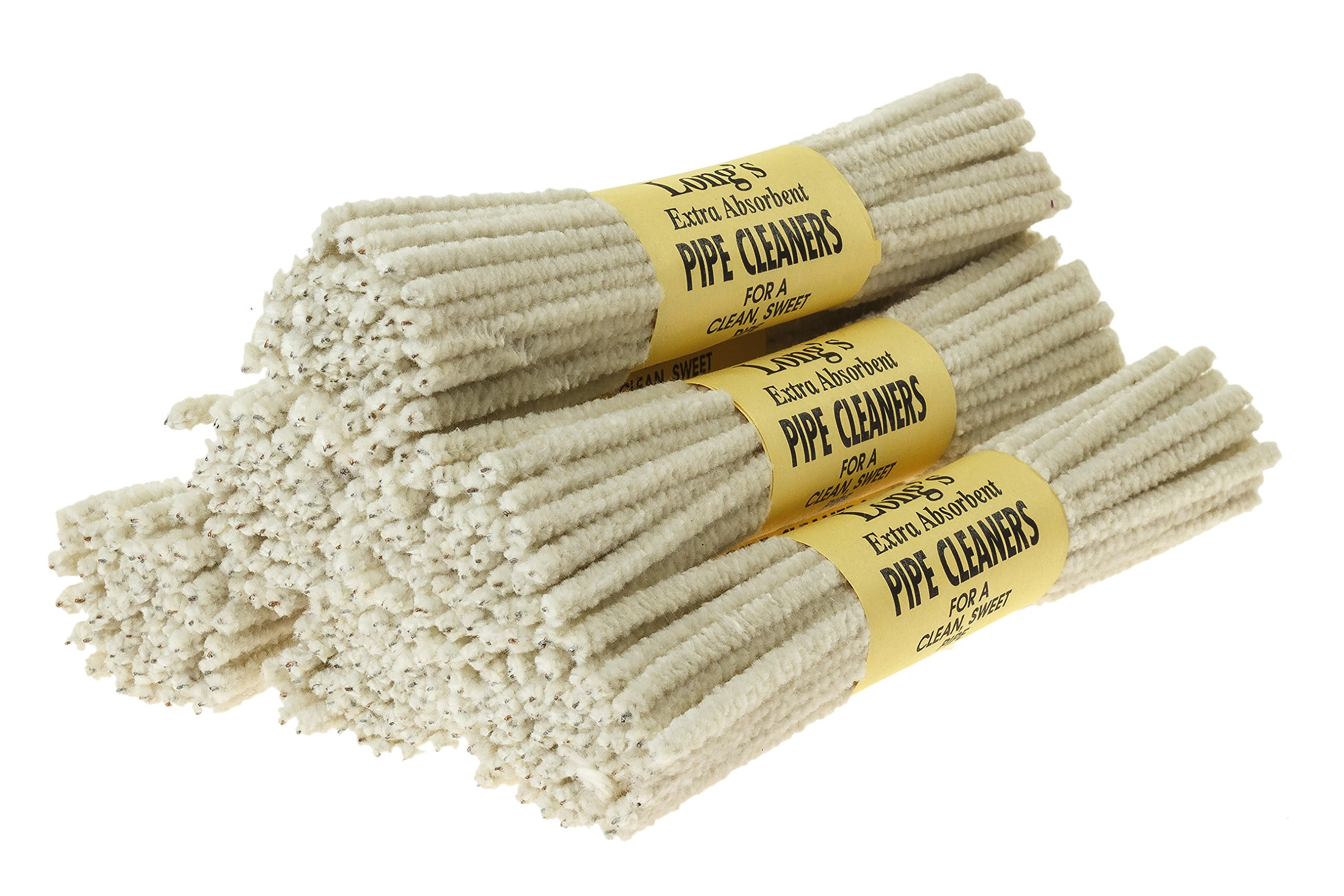 BJ Long Extra Absorbent Pipe Cleaners 56 Count - 6 Pack TP-1472