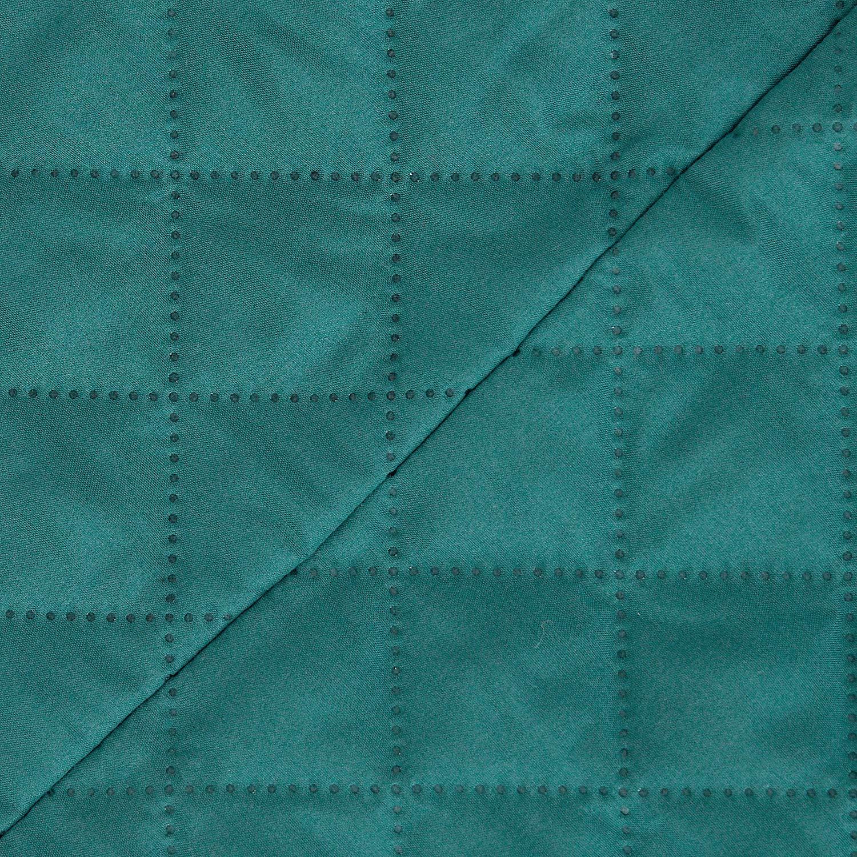 Deconovo 1 Pi/èce Jacquard Housse de Clic Clac 3 Places Matelass/ée Epaisse Turquoise Rev/êtement Housse de Canap/é Decoration pour Salon Chambre