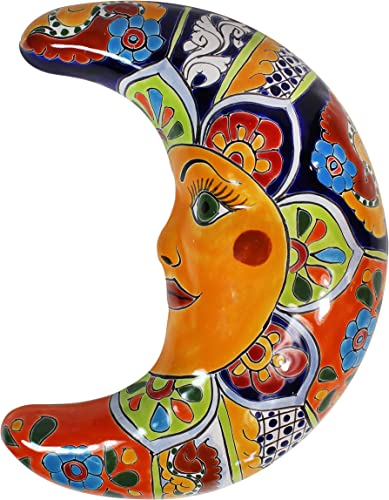 Talavera Moon Wall Sculpture