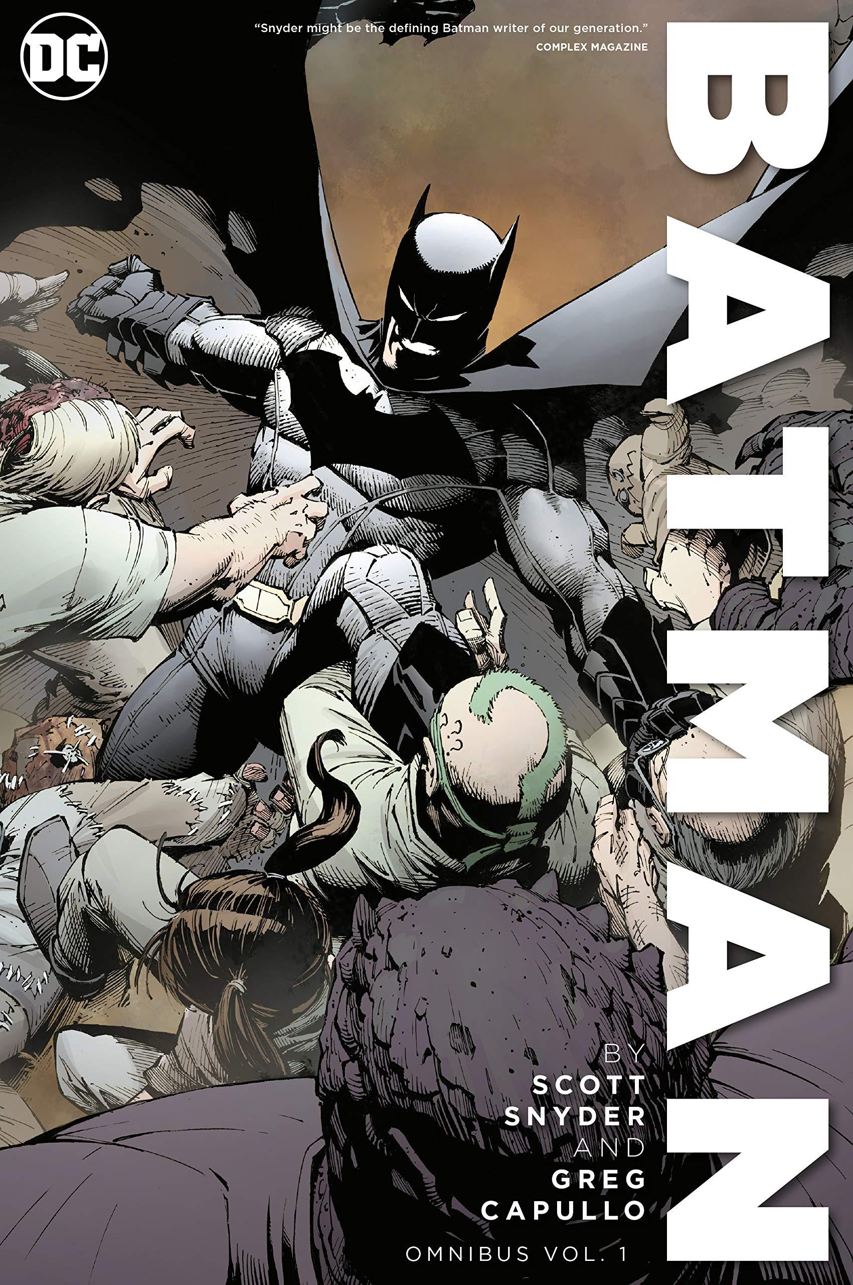 Batman by Scott Snyder & Greg Capullo Omnibus Vol. 1 (Batman Omnibus) by DC Comics