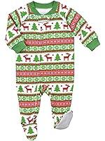 Sara's Prints Baby Soft Footed Pajamas