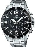 Casio Edifice Men's Analogue Quartz Watch with Stainless Steel Bracelet – EFR-553D