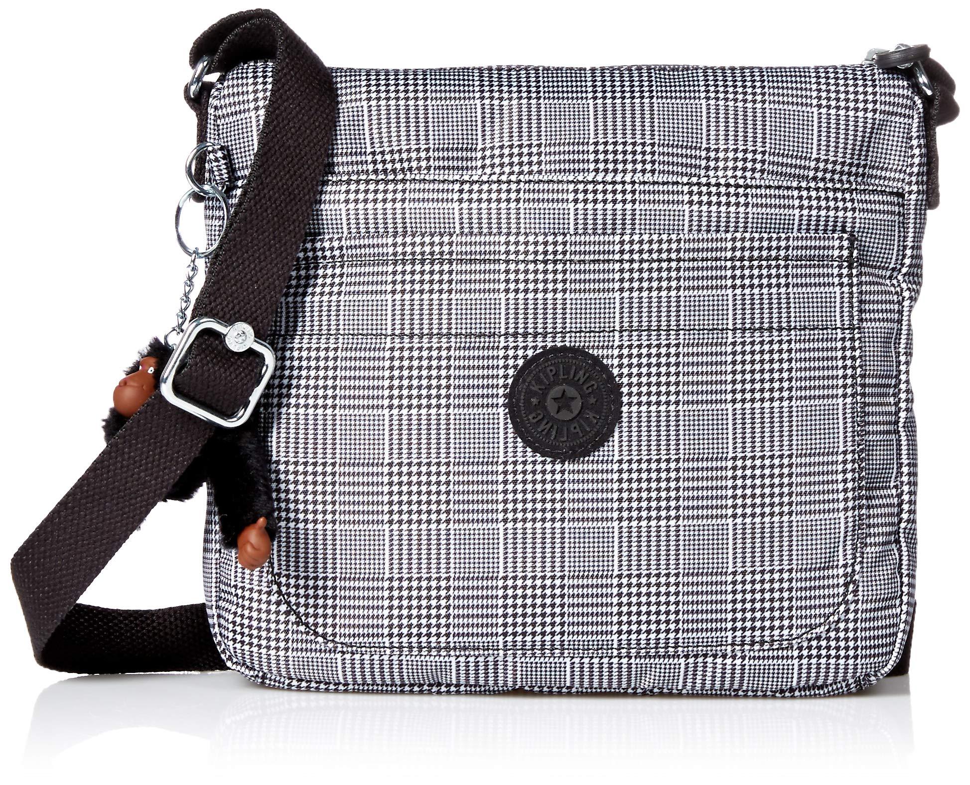 Kipling Women's womens Sebastian Crossbody Bag,  Etched Lines, One Size