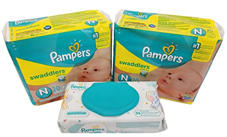 Review Pampers Swaddlers Diapers, Newborn,