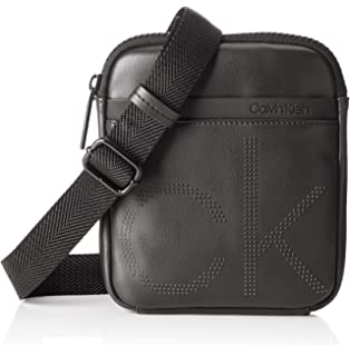1155c286aa Calvin Klein Ck Mono Waist Bag, Men's Shoulder Black (Blackwhite ...