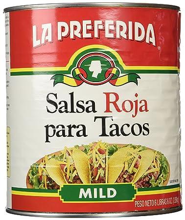 La Preferida Red Taco Sauce, 102 Ounce
