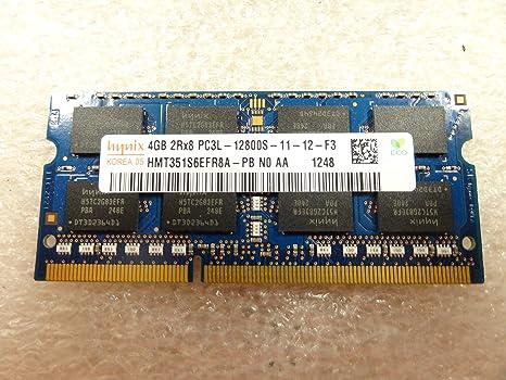 SK Hynix 4GB 1Rx8 PC3L-12800S-11-13-B4 SODIMM Memory for Laptop