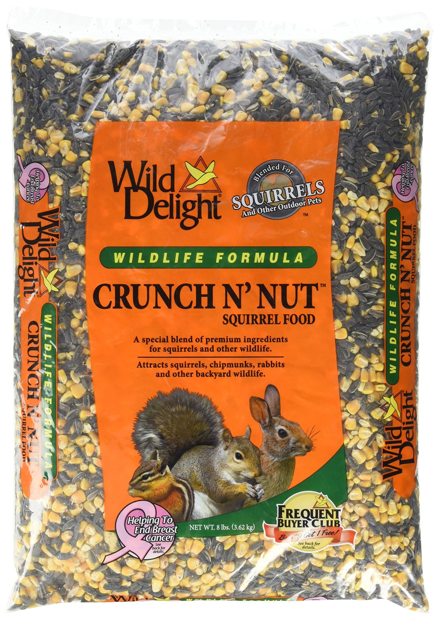 Wild Delight Crunch N' Nut Squirrel Food, 8 lb
