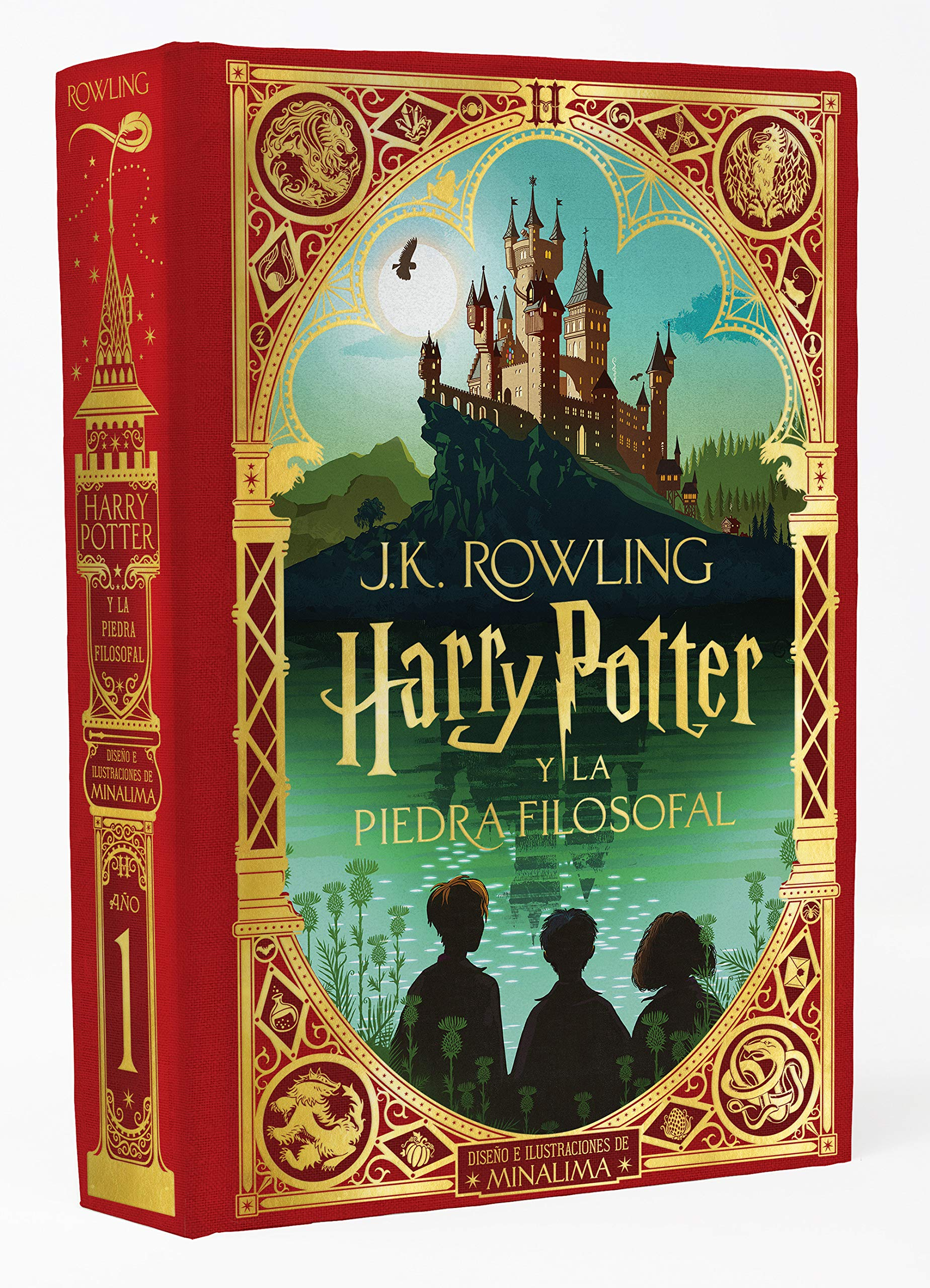 Harry Potter Y La Piedra Filosofal Ed Minalima Harry Potter And The Sorcerer S Stone Minalima Edition Spanish Edition 9788418174070 Rowling J K Books