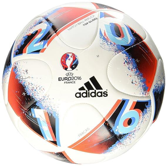 adidas Euro16Topgli Balón de fútbol, Hombre: Amazon.es: Deportes y ...