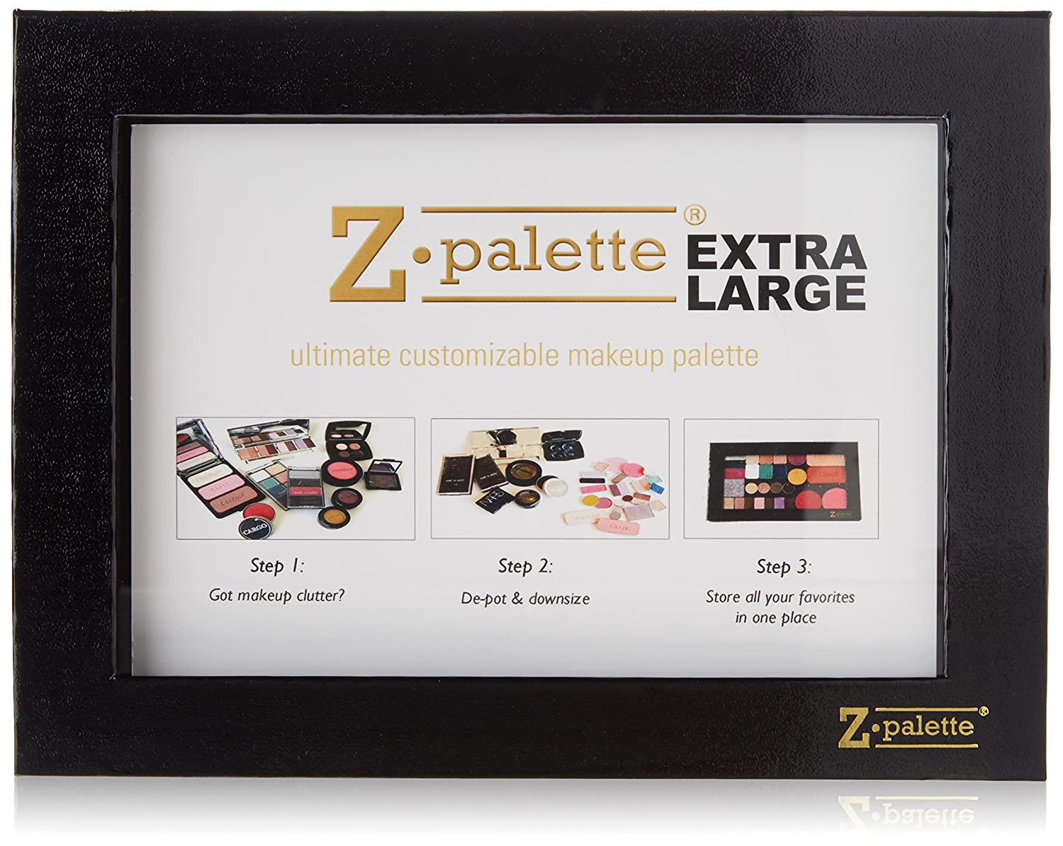 Z Palette Extra Large Multicolor Eye Makeup Computer Geek Circuit Board Green Magnetic Picture Frame Palettes Beauty
