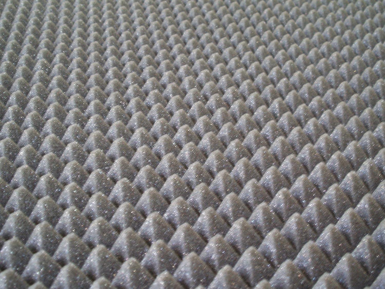 20/M/² panneaux de mousse acoustique 100/x 100/x 3/20/m/² pyramidale pour correction Audio en polyur/éthane