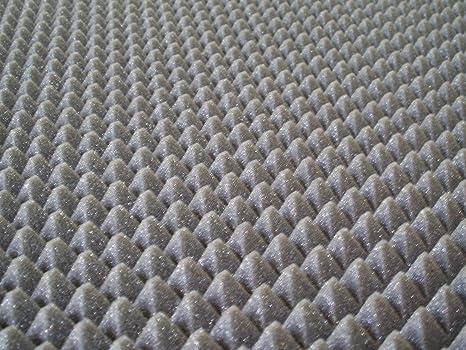 20 m² paneles aislamiento acústico 100 x 100 x 3 20 m² piramidal para corrección Audio