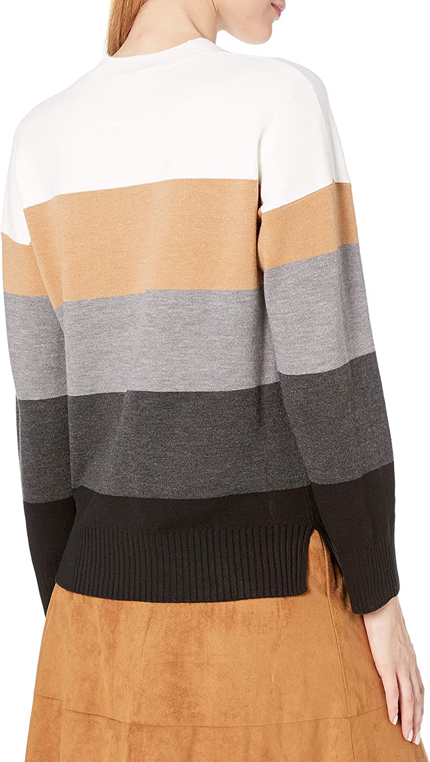 French Connection Womens Babysoft Long Sleeve Soft Solid Pullover Sweater