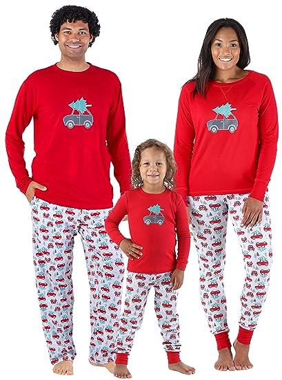 a312447e32 Sleepyheads Holiday Family Matching Tree Delivery Pajama PJ Sets - Infant  (SHM-5011-