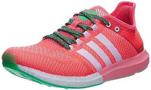 on sale 64778 34297 Adidas Cc Cosmic Boost W - Zapatillas para mujer, Blanco-Rosa-Verde, 36.0  Amazon.es Zapatos y complementos