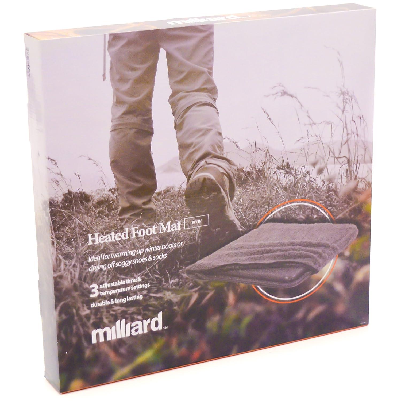 Amazon.com: MILLIARD climatizada Foot Pad – 18 x 18in., Con ...