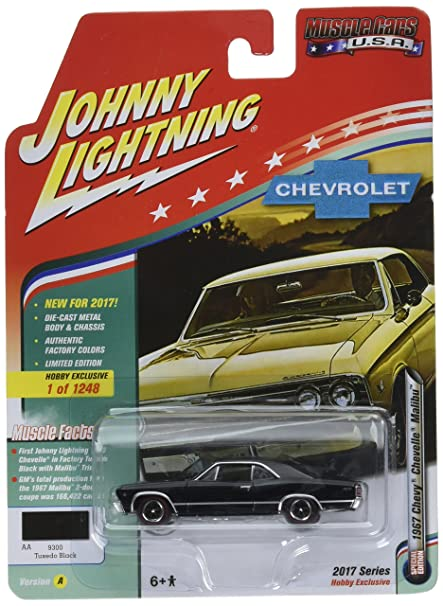 Amazon Com Johnny Lightning 1 64 Muscle Cars Usa 1967 Chevrolet
