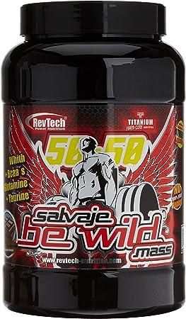 Revtech Be Wild Carbohidratos y Proteína, Sabor a Chocolate ...