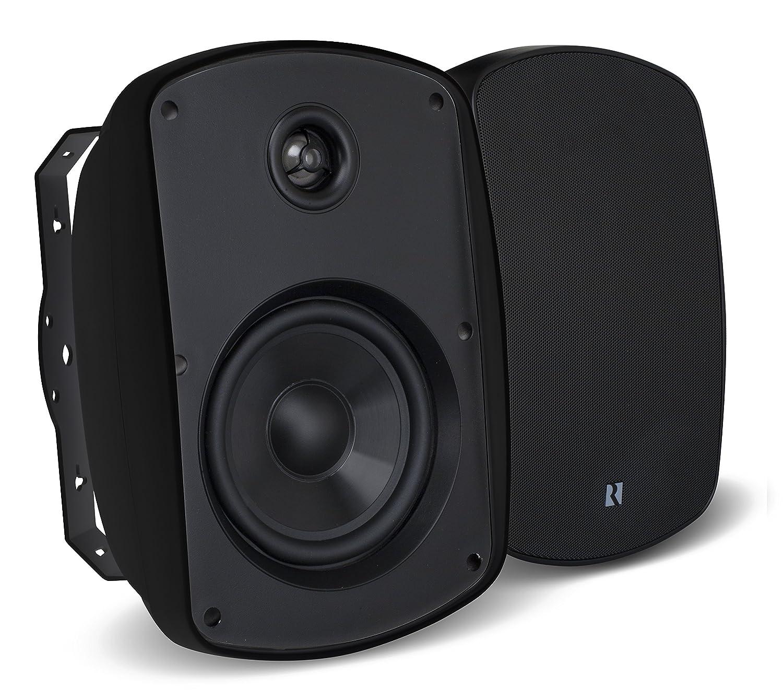 """Russound 5B65B 6.5"""" Indoor Outdoor Speakers Black"""