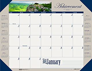"product image for House of Doolittle 2017 Monthly Desk Pad Calendar, Motivational, 22 x 17"" (HOD175-17)"