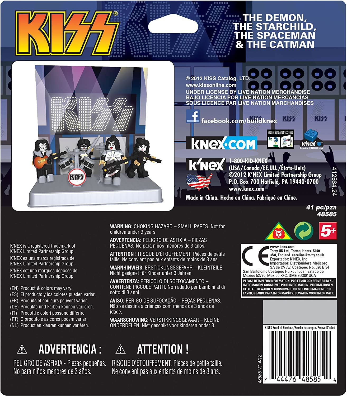 KNex Kiss Buildable Figures Building Set