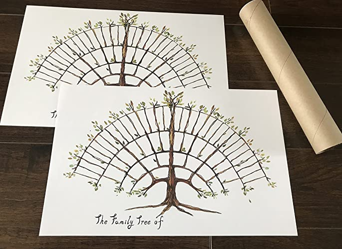 amazon com simple family tree chart farmhouse decor friendly un