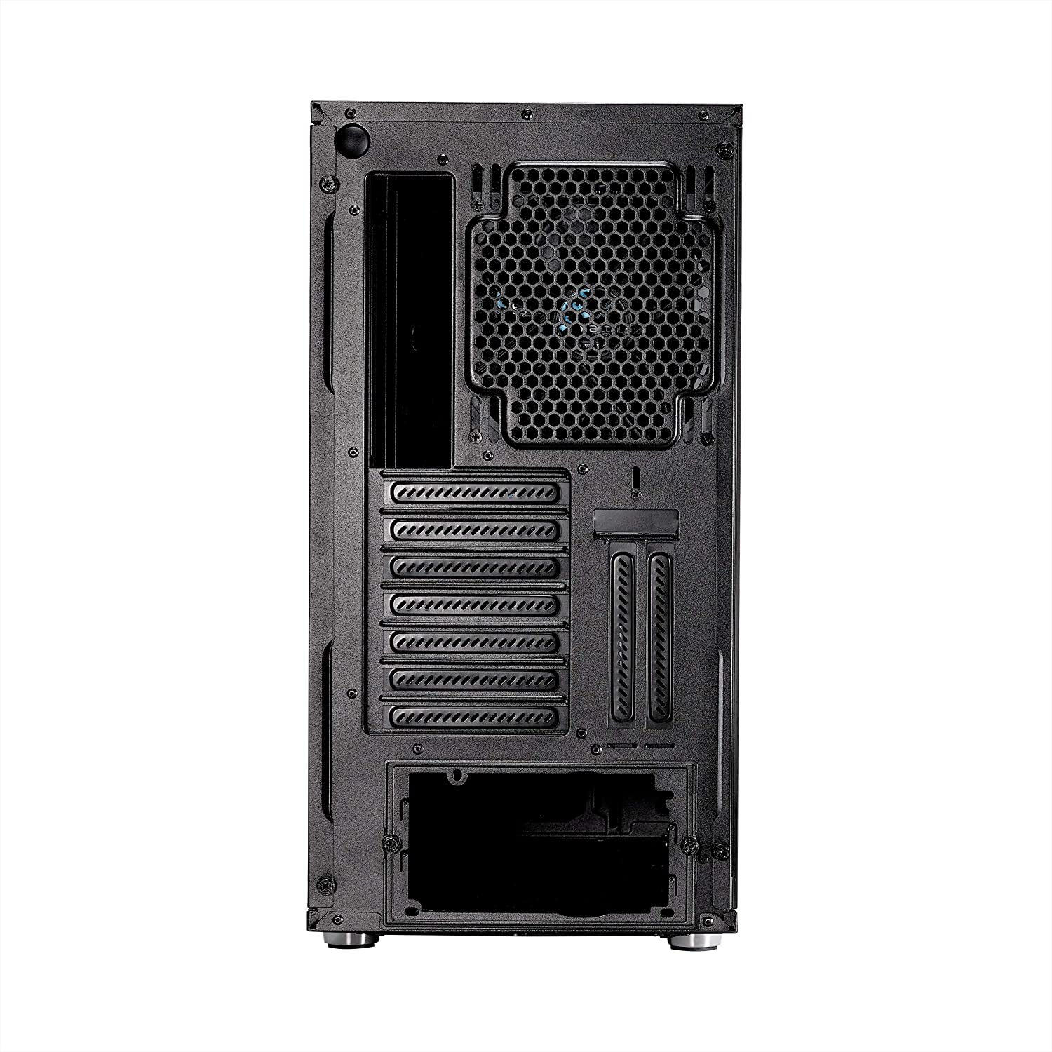 Water-Cooling Ready Mid Tower Computer Case Airflow//Performance USB Type C 3X Silent Fans and Nexus Hub Modular Interior Fractal Design Meshify S2 PSU Shroud Blackout Tempered Glass