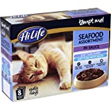 HiLife Tempt Me Cat Food Seafood Assortment in Sauce 32 x 85g Pouches