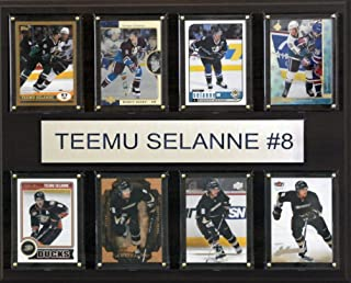 product image for NHL Anaheim Ducks Teemu Selanne 8-Card Plaque, 12 x 15-Inch
