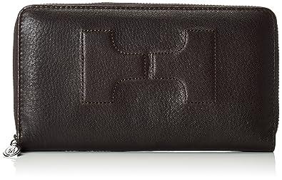 5506feed42dd SILVIO TOSSI - Swiss Label Damen Brieftasche Dunkelbraun Elite-Hirschleder
