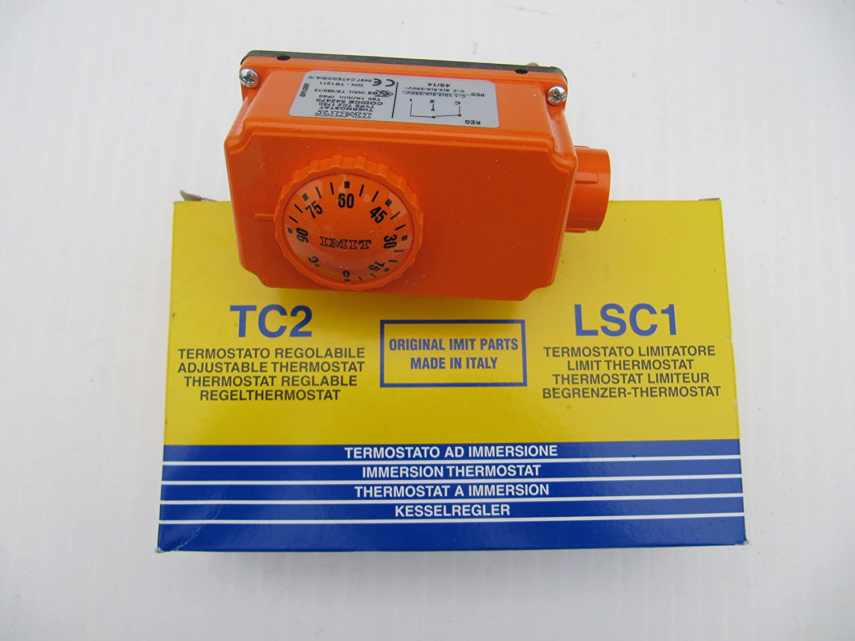 Courbe imitation TC2/Thermostat