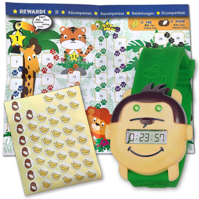 Amazon.com: Potty Monkey - Reloj con libro de monos: Baby