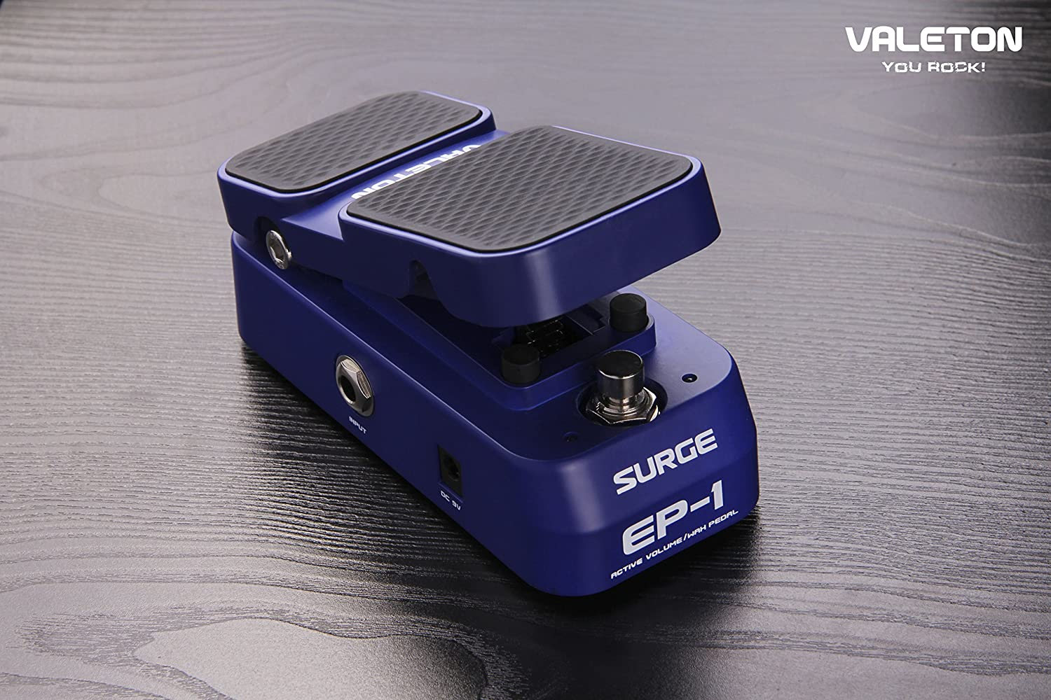 Valeton Surge EP-1 Mini Wah/Active Volume Guitar Effect Mini Pedal (EP-1)