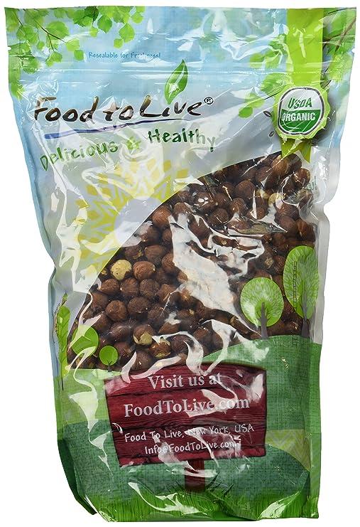 Food to Live Las avellanas Bio (Eco, Ecológico, crudas, sin cáscara) - 4 libras: Amazon.es: Alimentación y bebidas
