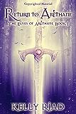 Return to Arèthane (The Elves of Arèthane Book 1)