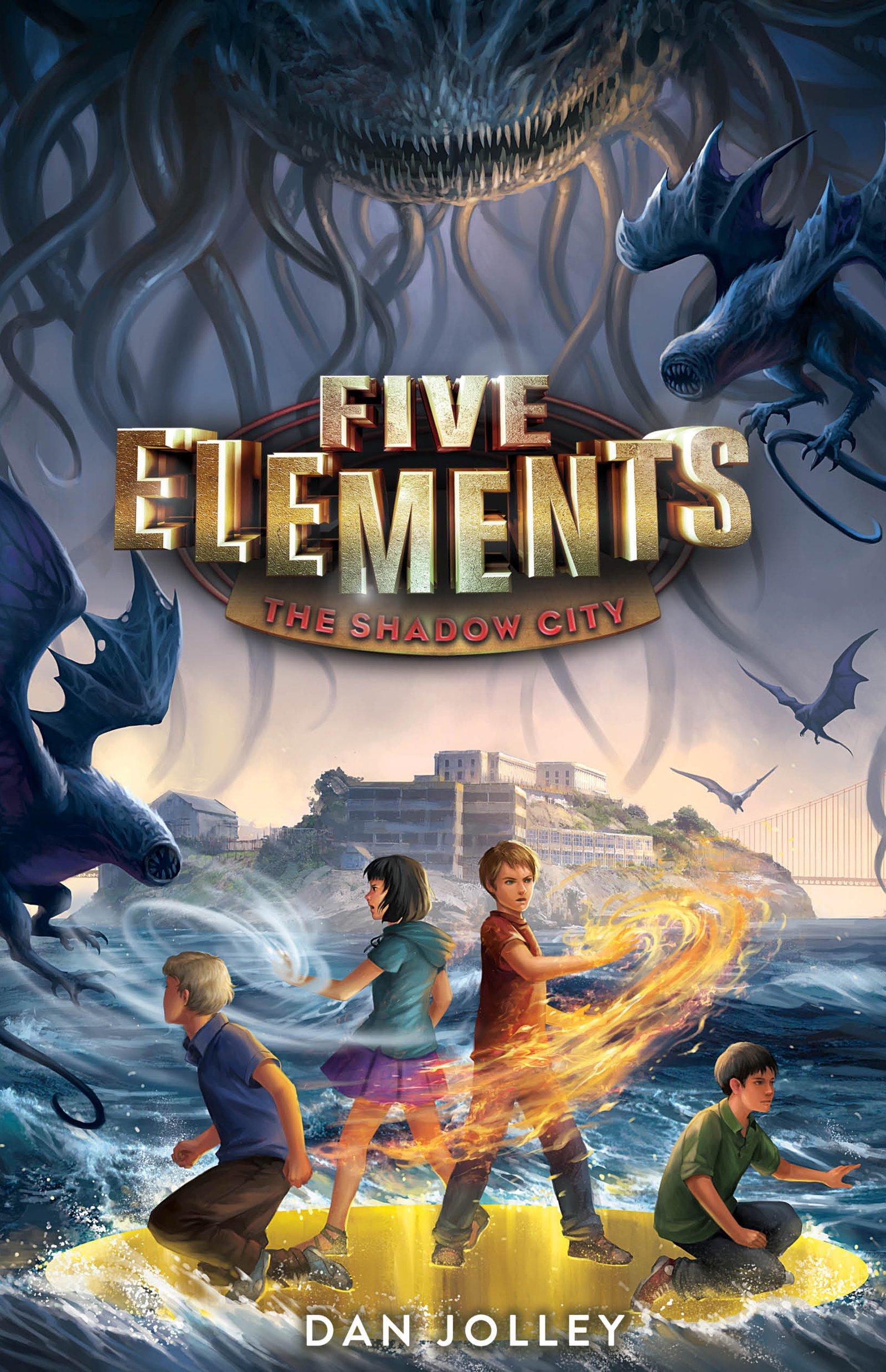Five Elements #2: The Shadow City: Dan Jolley: 9780062411679: Amazon:  Books