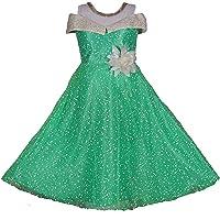 My Lil Princess Baby Girls Birthday Frock Dress_Blue Polka_0-10 Years